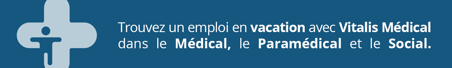 BANNIERE VITALIS MEDICAL OFFRES EMPLOI VACATION