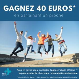 Parrainez vos proches et gagnez 40 euros